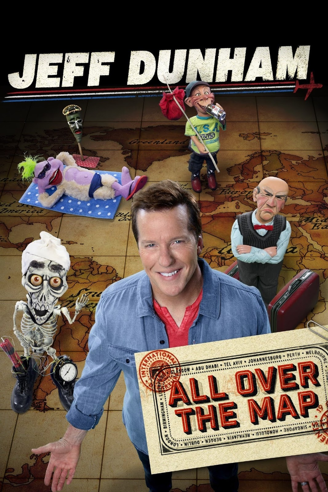 Jeff Dunham: All Over the Map (2014) ταινιες online seires oipeirates greek subs