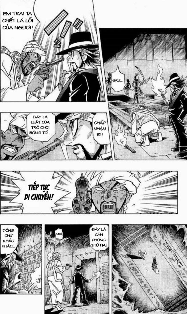 YUGI-OH! chap 279 - báu vật ngàn năm trang 16