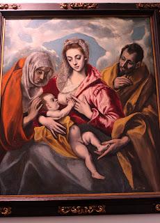 Obras del Greco en el hospital de Tavera