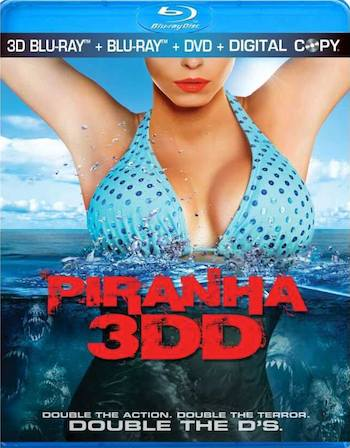 Piranha 3DD 2012 Dual Audio [Hindi English] BRRip 720p 700MB