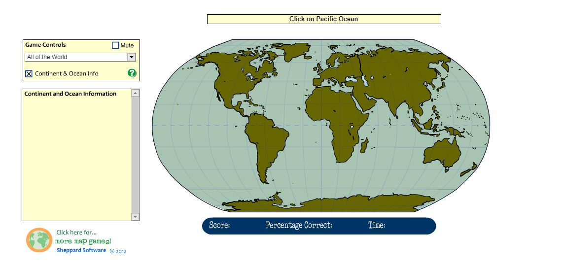 The sunshiny tech spot 2nd grade continents and oceans sheppard software all about world geography gumiabroncs Image collections