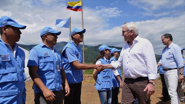 """Alemania advierte a Colombia: No es """"fácil"""" implementar la paz"""