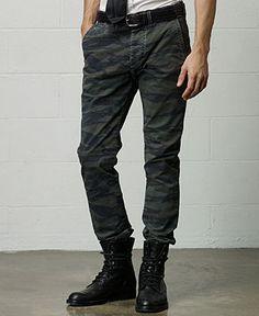 erkek kamuflaj desen pantolon