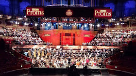 Schoenberg's Gurrelieder in rehearsal at the BBC Proms (photo courtesy of London Symphony Chorus)