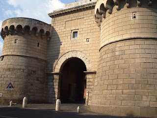 Velletri's Porta Napoletana formed part of the city walls