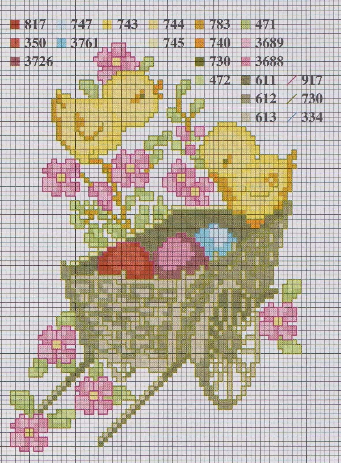 Миньоны схема для вышивания фото 239