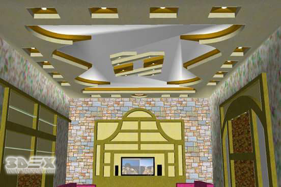 Modern gypsum board false ceiling designs, prices, installation