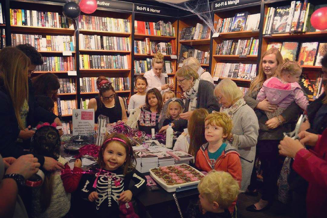 Isadora Moon Promotional Event at Hitchin Waterstones, October 2017