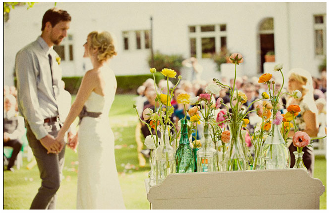 Spring Vintage Wedding Ideas: Pragtige Vintage Trou Beplanning: August 2013