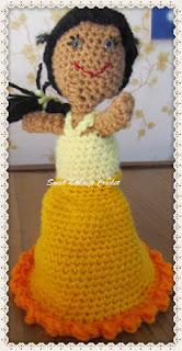 crochet amigurumi, crochet doll