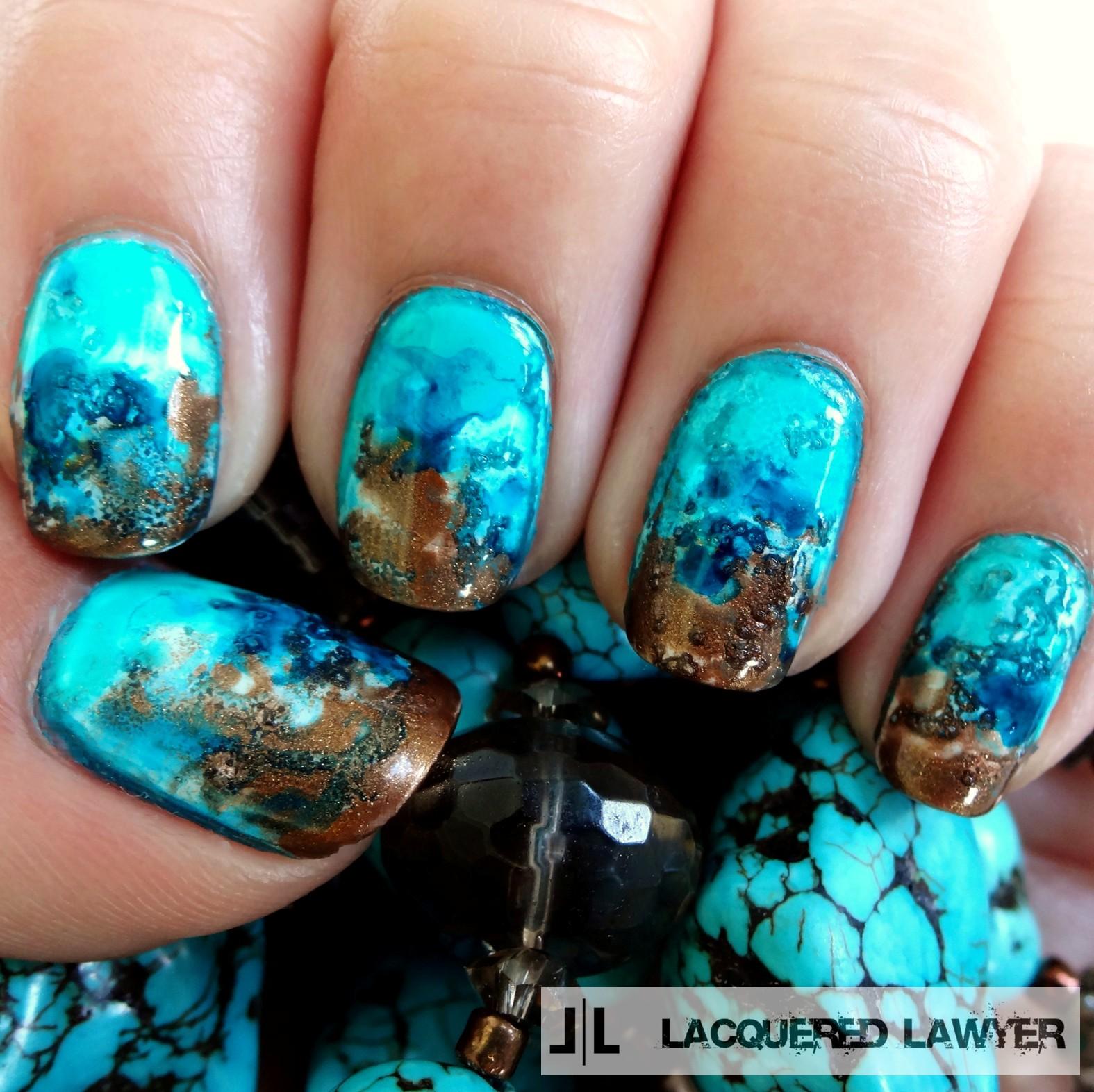 Nail Art Blog: Turquoise Talons