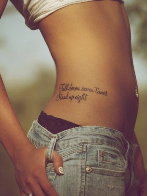 Girly Tattoo Ideas frases