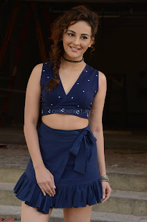Seerat Kapoor Stunning Cute Beauty in Mini Skirt  Polka Dop Choli Top ~  Exclusive Galleries 057.jpg
