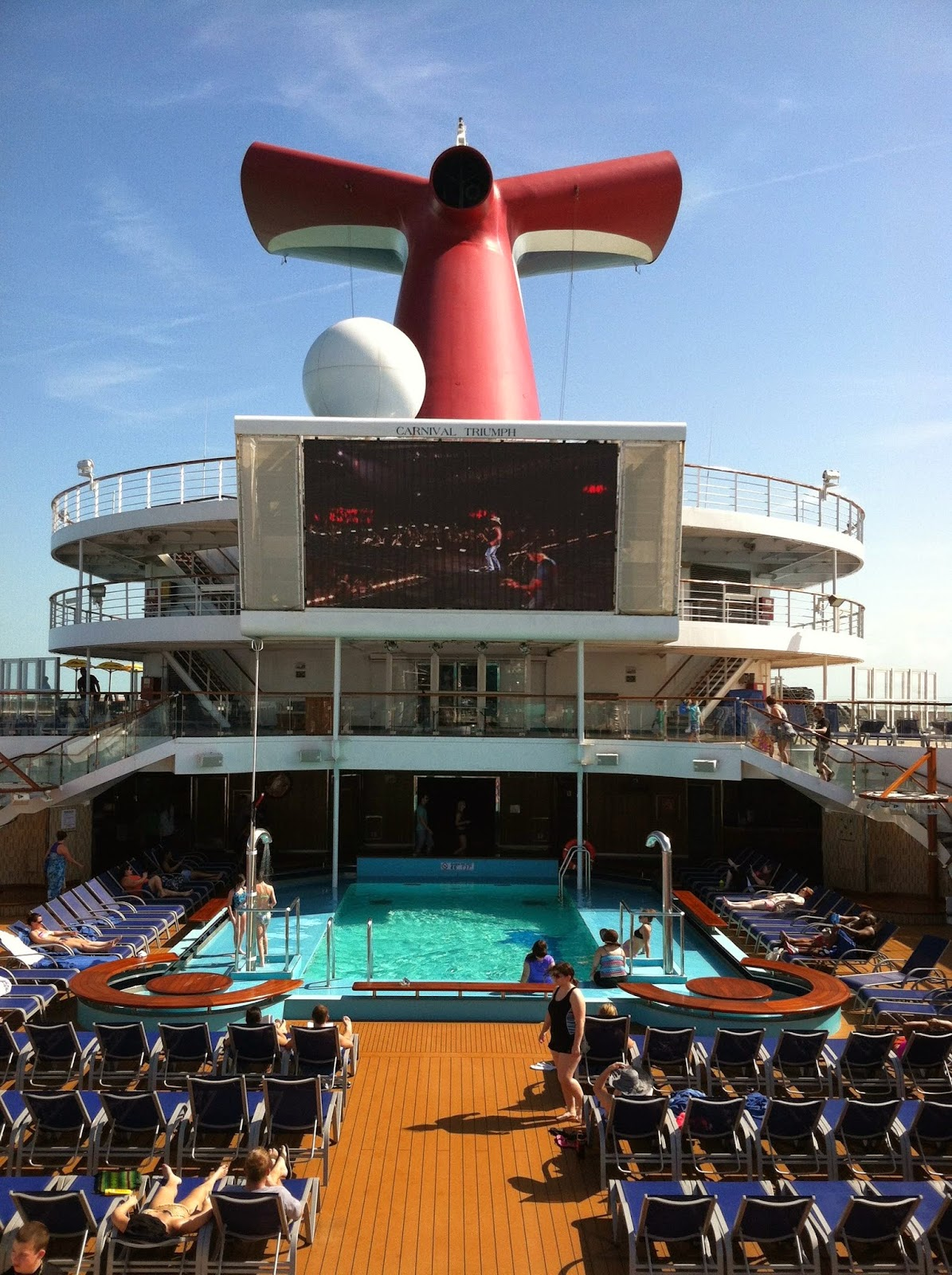 Ray S Cruise Amp Travel Blog Carnival Triumph Cruise Review