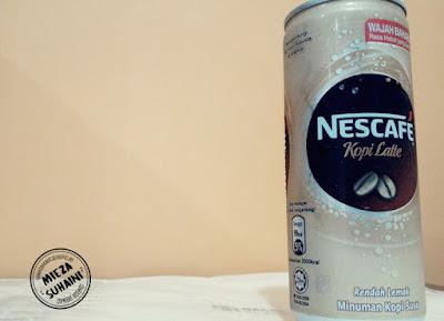 Sedapnya Nescafe Latte