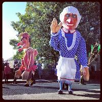 Giant Punch and Judy
