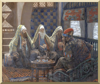 """The Magi In The House of Herod"" -- by James Tissot"