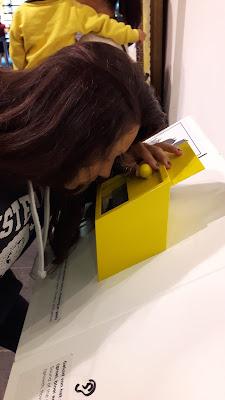 interaktive Station im Van Gogh Museum Amsterdam