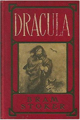 Writers in London in the 1890s: Dracula Book Cover Collection