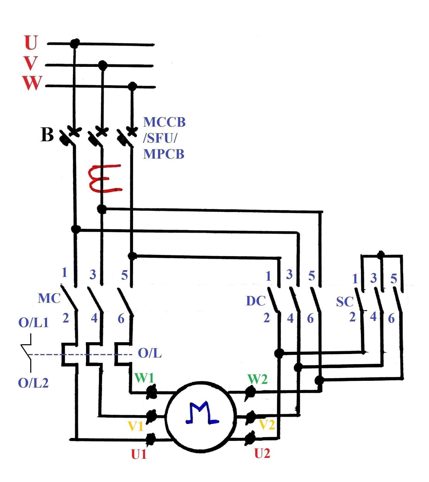 electrical circuits diagrams star delta