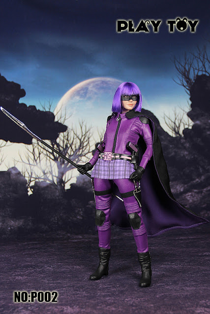 toyhaven: Check this out! Play Toy Purple Girl Sixth Scale Figure is none other than Kick Ass 2 ...