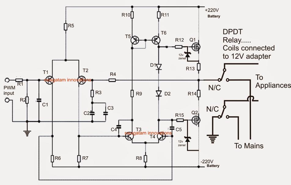 Ups Circuit Diagram Download Wiring Source