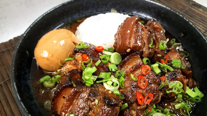 Porc au caramel traditionnel ou Thit Kho