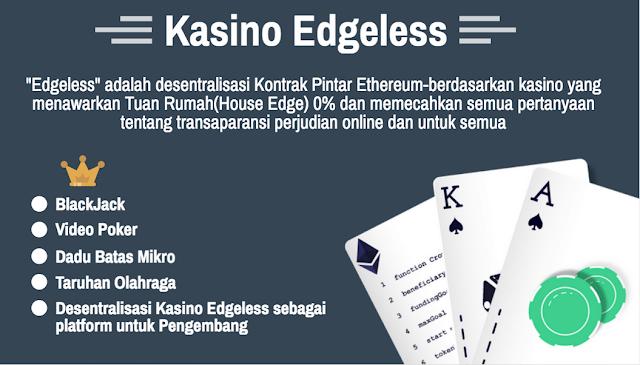 Edgeless  solusi casino masa depan