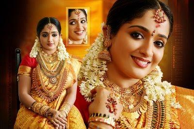Kavya Madhavan Saree Wedding