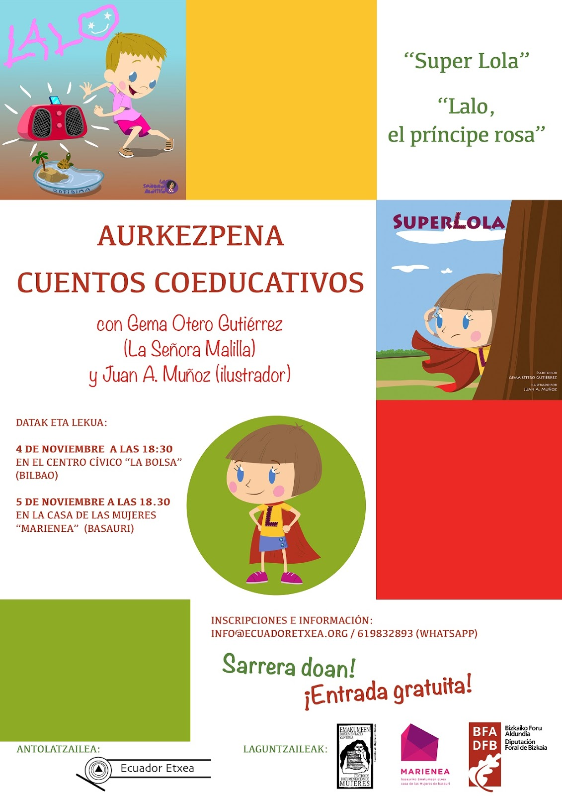 Presentacion Cuentos Coeducativos Super Lola Y Lalo El