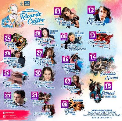 festival ricardo castro 2018
