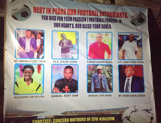 Photos Of 14 Year Old Blessing Okon Udo & Other Man U Fans That Died In Calabar 1