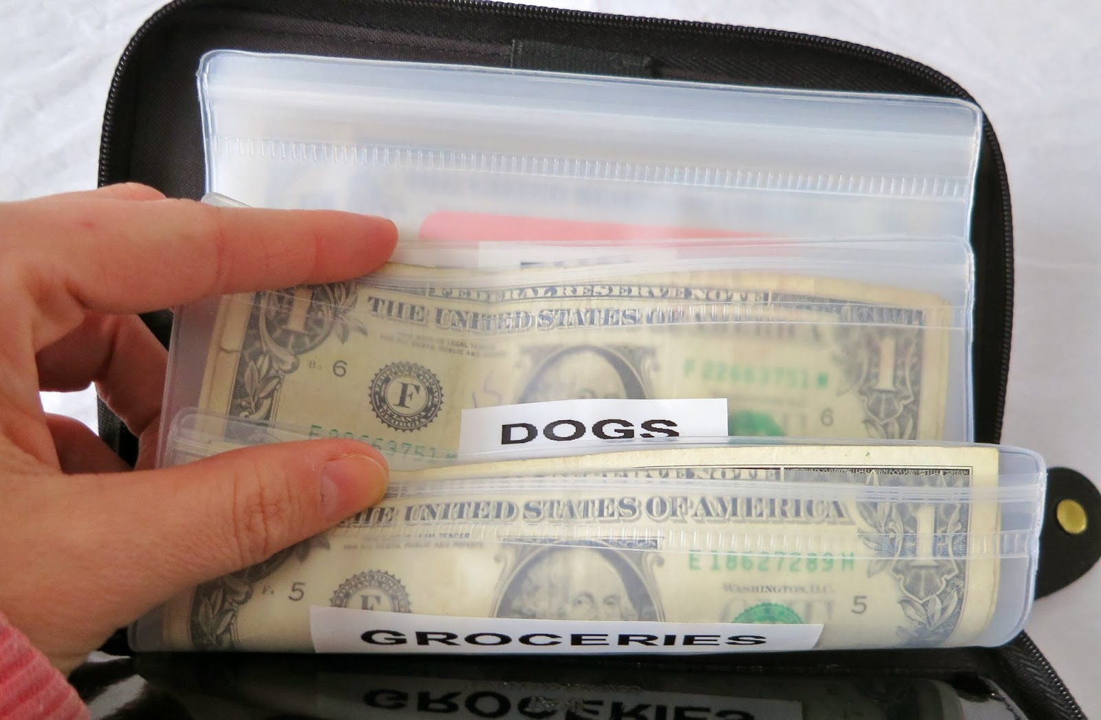 Ask Away Blog A Look At My Filofax Budget Envelope System