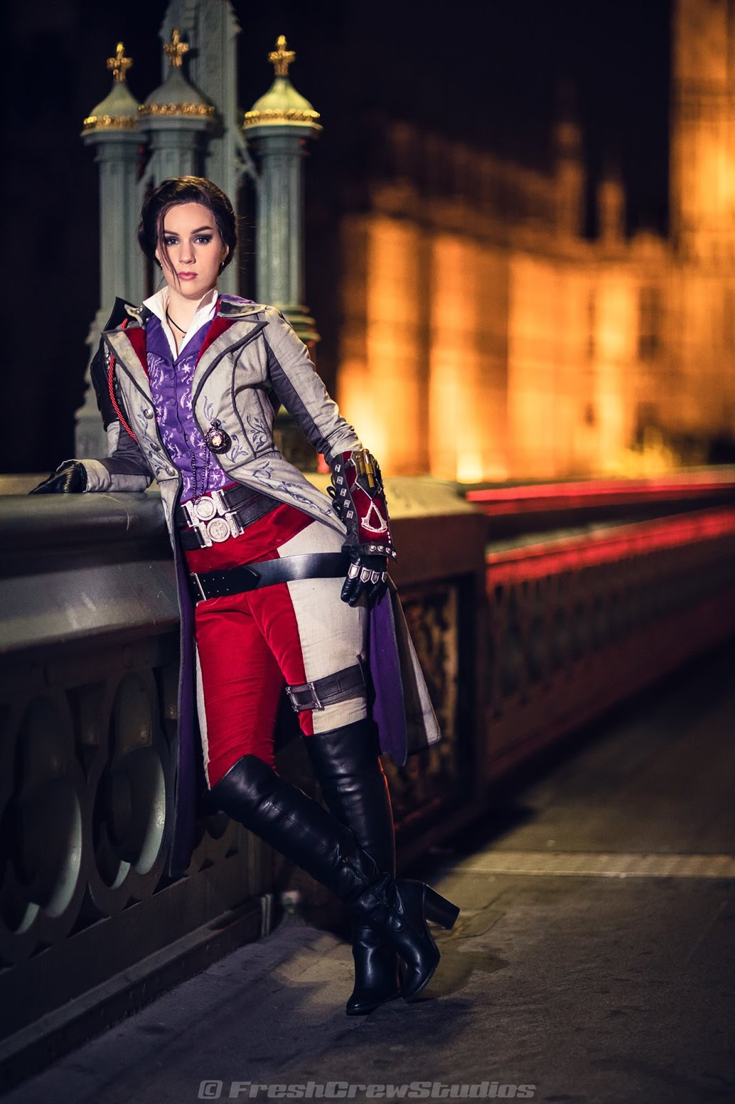 Elarte Cosplay Assassin S Creed Syndicate Evie Frye Cosplay