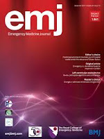 Image of Emergency Medical Journal front cover
