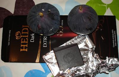 ciocolata neagra si smochine