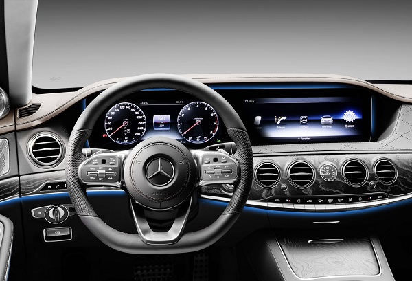 Interior Mercedes-Benz Clase S