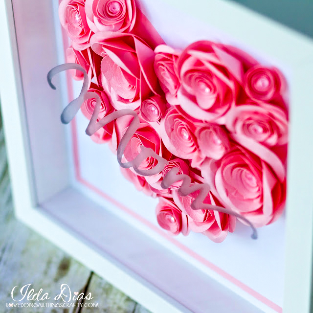 Mother's Day Shadow Box by ilovedoingallthingscrafty