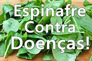 Os benefícios do Espinafre para a saúde