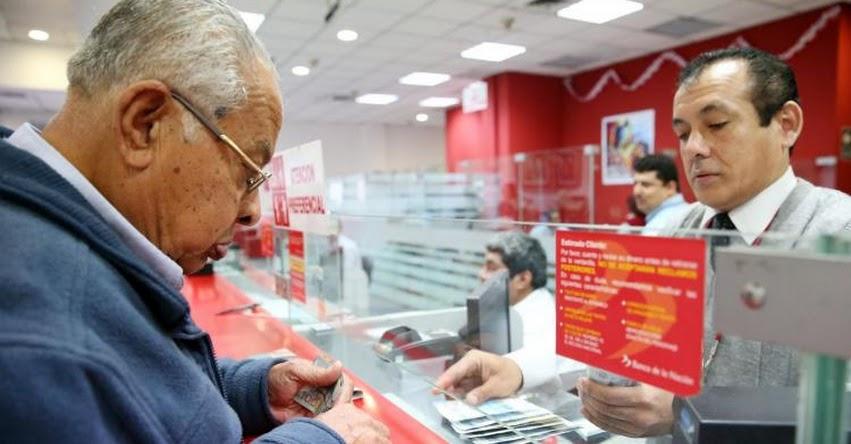 Banco de la Nación inicia mañana entrega de bonos de S/ 380