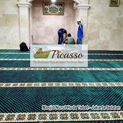 Karpet Sjaadah Masjid, Pasang Karpet Masjid, Ukuran Karpet Masjid