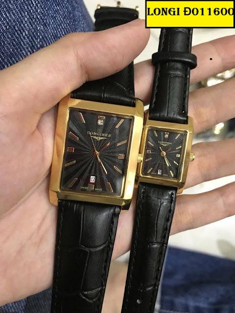 Đồng hồ dây da Longines Đ011600