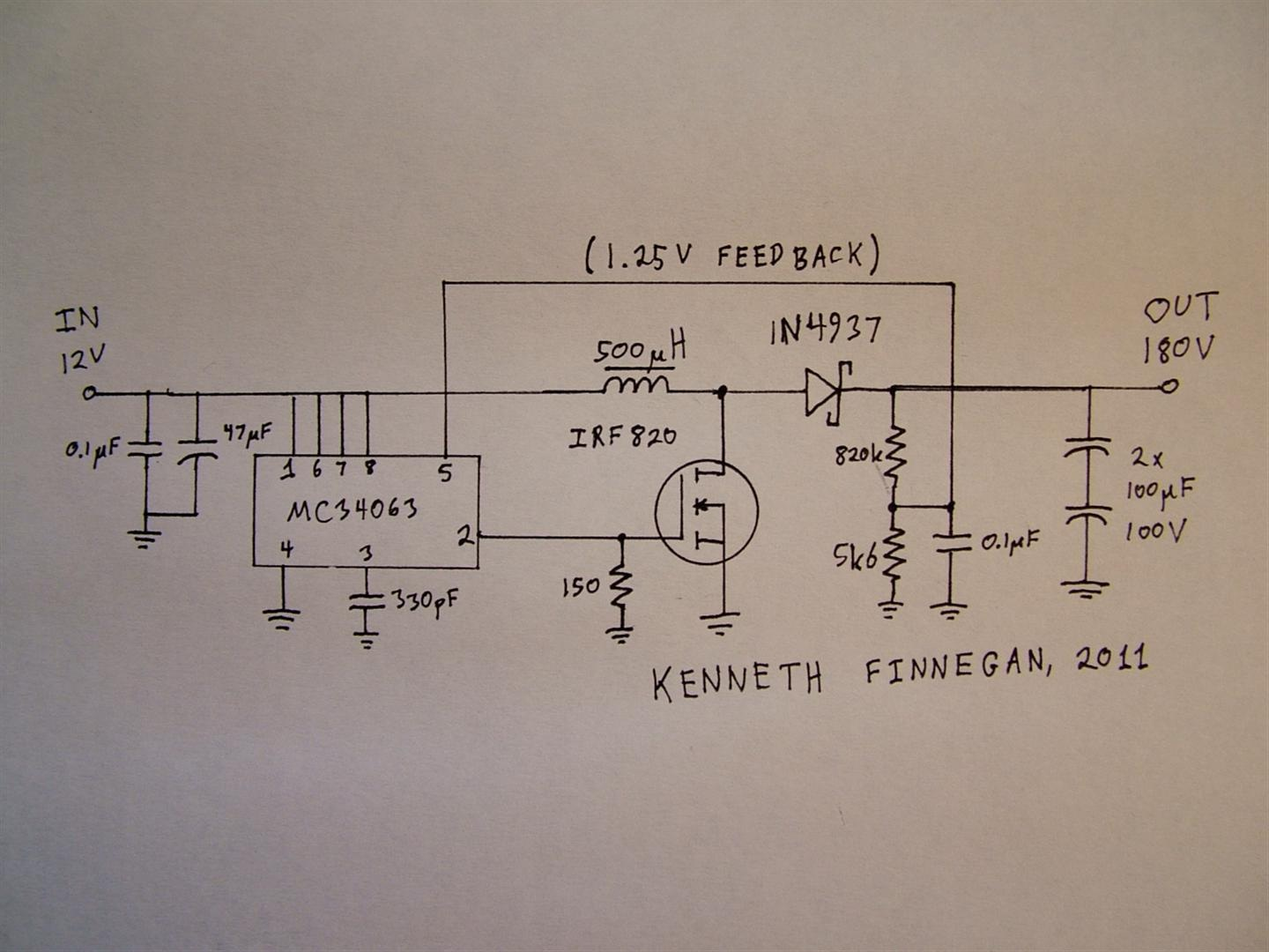 The Life Of Kenneth Avr Nixie Tube Thermometer Schematic My 6 Digit Clock Here Are Some Photos An Error Occurred
