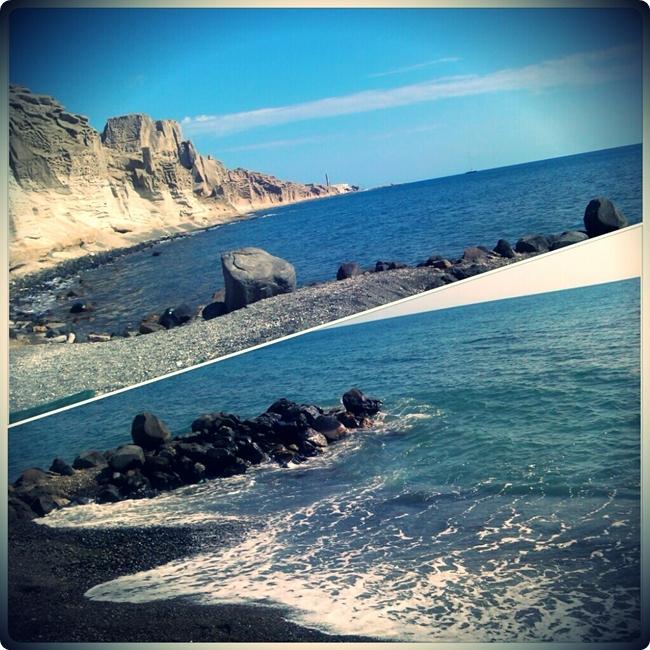 Vlihada beach Santorini