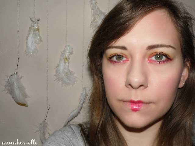 maquillage rouge MSC