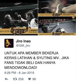 Jiro Inao Tweet 1