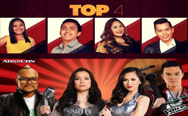 The Voice of the Philippines Season 2 Final Showdown Top 4 Duet with Their Respective Coaches