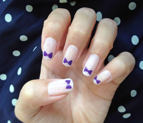 Ringology: Nail Art: Bow Tie