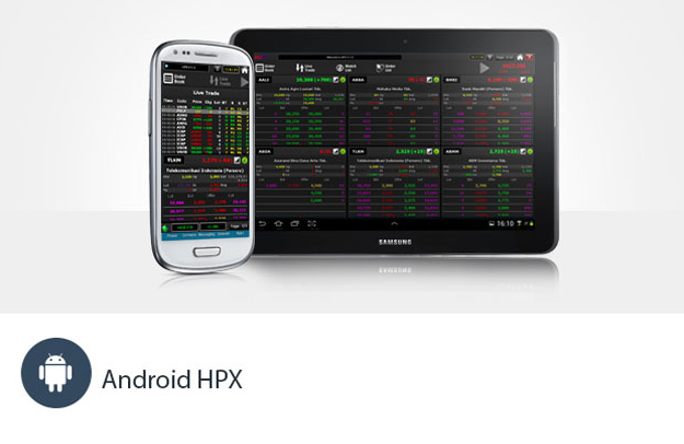 Gambar HPX online trading For Android