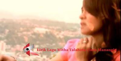 Lirik Lagu Mitha Talahatu Cinta Manangis